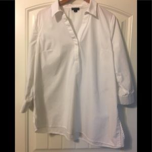 New Directions button down tunic